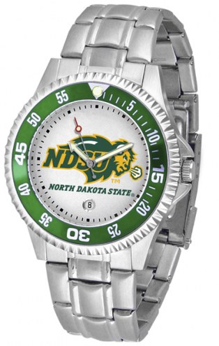 North Dakota State Bison Competitor Steel Men's Watch