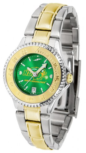 North Dakota State Bison Competitor Two-Tone AnoChrome Women's Watch