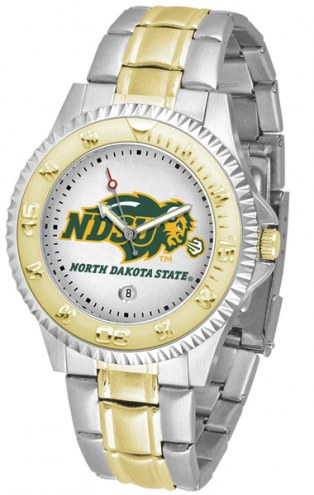 North Dakota State Bison Competitor Two-Tone Men's Watch