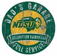 North Dakota State Bison Dad's Garage Sign