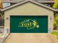 North Dakota State Bison Double Garage Door Banner