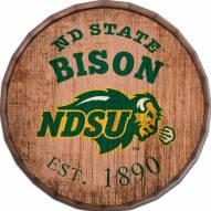 """North Dakota State Bison Established Date 16"""" Barrel Top"""