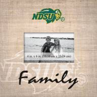 North Dakota State Bison Family Picture Frame