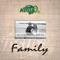 North Dakota State Bison Family Picture Frame