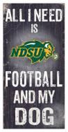 North Dakota State Bison Football & My Dog Sign