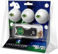 North Dakota State Bison Golf Ball Gift Pack with Spring Action Divot Tool
