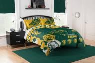 North Dakota State Bison Hexagon Full/Queen Comforter & Shams Set