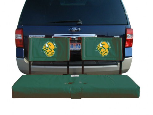 North Dakota State Bison Tailgate Hitch Seat/Cargo Carrier