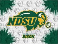 North Dakota State Bison Logo Canvas Print