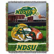 North Dakota State Bison Home Field Advantage Throw Blanket