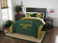 North Dakota State Bison Modern Take Full/Queen Comforter Set