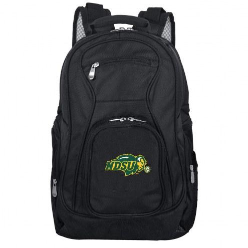 North Dakota State Bison Laptop Travel Backpack
