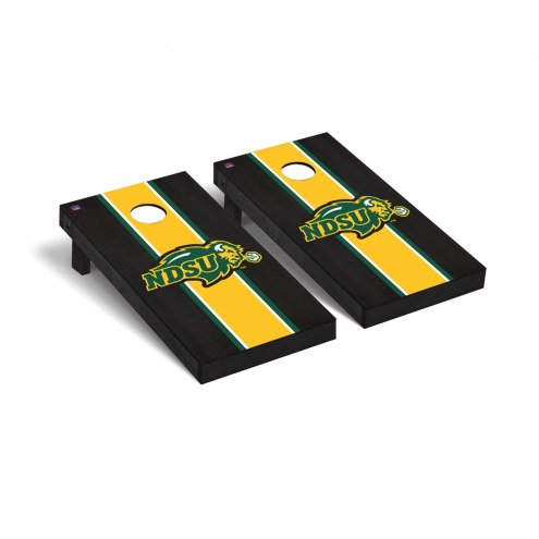 North Dakota State Bison Onyx Stained Cornhole Game Set