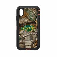 North Dakota State Bison OtterBox iPhone XS Max Defender Realtree Camo Case