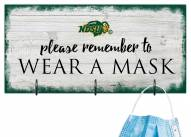 North Dakota State Bison Please Wear Your Mask Sign