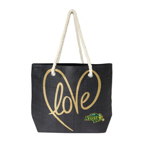 North Dakota State Bison Rope Tote