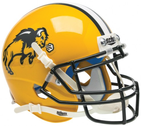 North Dakota State Bison Schutt Mini Football Helmet