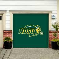 North Dakota State Bison Single Garage Door Banner