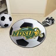 North Dakota State Bison Soccer Ball Mat