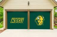 North Dakota State Bison Split Garage Door Banner