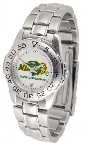 North Dakota State Bison Sport Steel Women's Watch