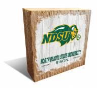 North Dakota State Bison Team Logo Block
