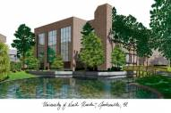 North Florida Ospreys Campus Images Lithograph
