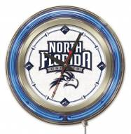 North Florida Ospreys Neon Clock