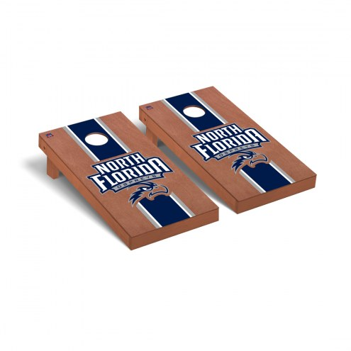 North Florida Ospreys Rosewood Stained Cornhole Game Set