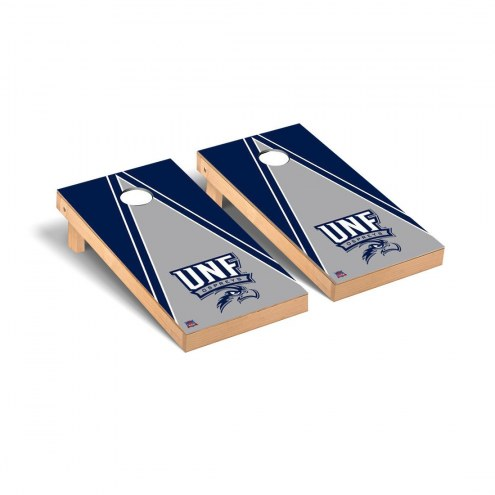 North Florida Ospreys Triangle Cornhole Game Set