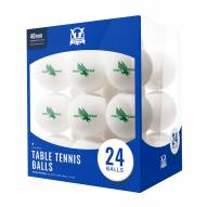 North Texas Mean Green 24 Count Ping Pong Balls