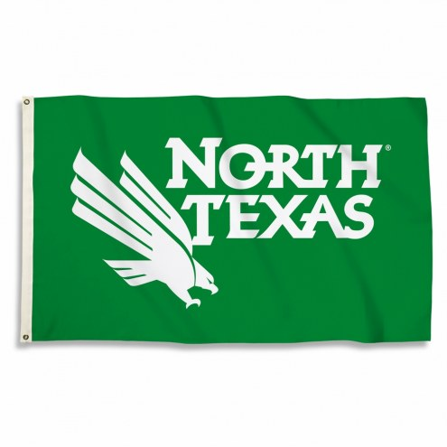 North Texas Mean Green 3' x 5' Flag