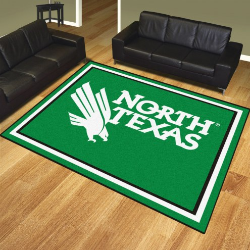 North Texas Mean Green 8' x 10' Area Rug