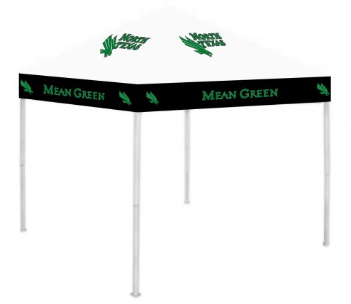North Texas Mean Green 9' x 9' Tailgating Canopy