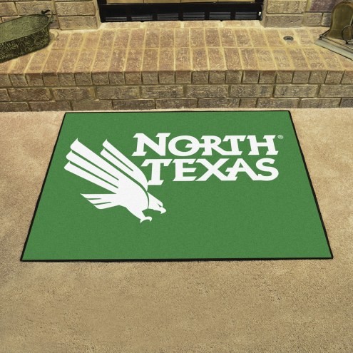 North Texas Mean Green All-Star Mat