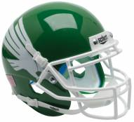 North Texas Mean Green Alternate 1 Schutt Mini Football Helmet