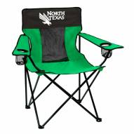 North Texas Mean Green Elite Tailgating Chair