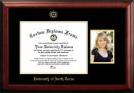 North Texas Mean Green Gold Embossed Diploma Frame with Portrait
