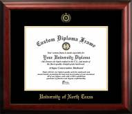 North Texas Mean Green Gold Embossed Diploma Frame