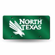 North Texas Mean Green Laser Cut License Plate