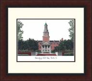 North Texas Mean Green Legacy Alumnus Framed Lithograph