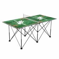 North Texas Mean Green Pop Up 6' Ping Pong Table