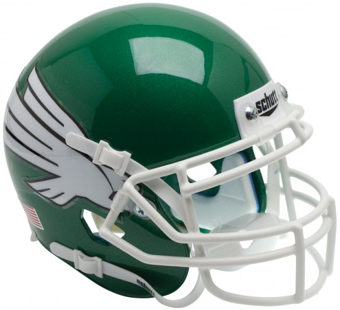 North Texas Mean Green Schutt XP Collectible Full Size Football Helmet