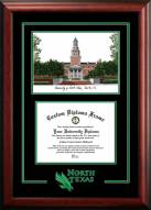 North Texas Mean Green Spirit Graduate Diploma Frame