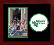 North Texas Mean Green Spirit Vertical Photo Frame