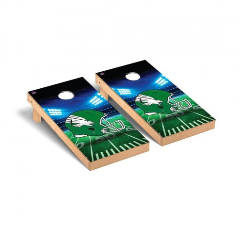 North Texas Mean Green Stadium Cornhole Game Set