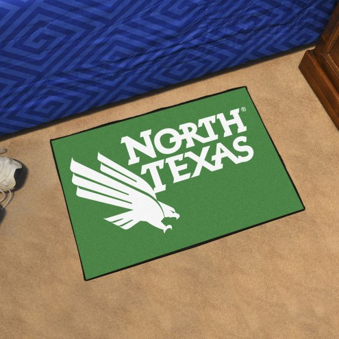 North Texas Mean Green Starter Rug