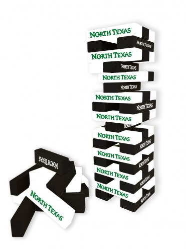 North Texas Mean Green Table Top Stackers