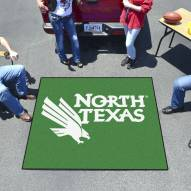 North Texas Mean Green Tailgate Mat