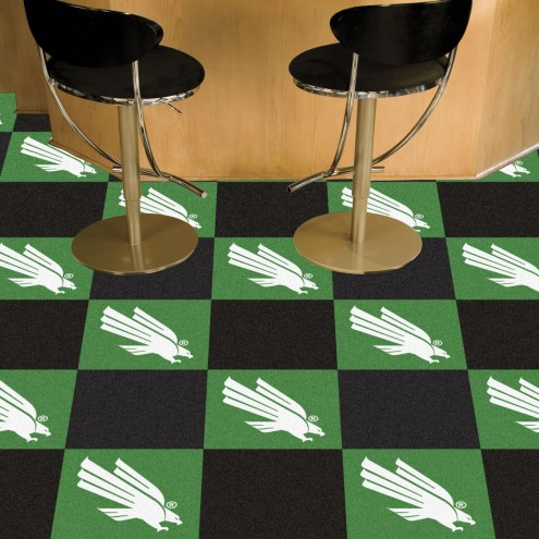 North Texas Mean Green Team Carpet Tiles